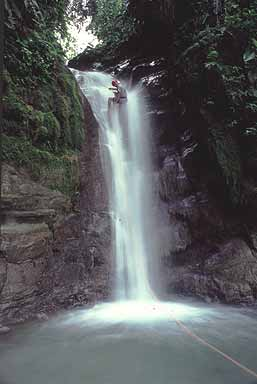 Costa Rica Waterfall Climbing