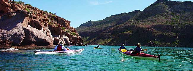 Mexico Tours and Travel: Sea Kayaking in Baja
