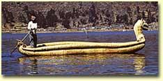 Reed Boat Peru
